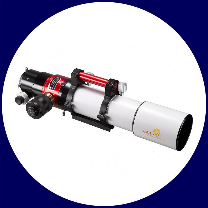 LUNT 80mm MT Teleskop mit Crayford-Auszug OHNE Blocking Filter