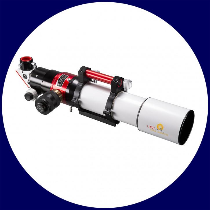 LUNT 80mm MT Teleskop mit Crayford-Auszug und B1800 Blocking Filter