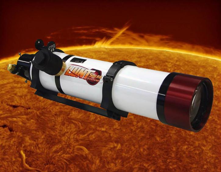 "LUNT 100mm H-a Teleskop, 2"" Feather Touch Auszug, OHNE Blocking Filter, Pressure Tuner"