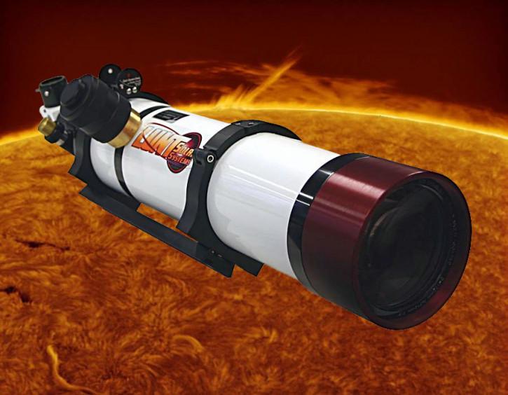 "LUNT 100mm H-a Teleskop, 2"" Feather Touch Auszug, B1800, Pressure Tuner"