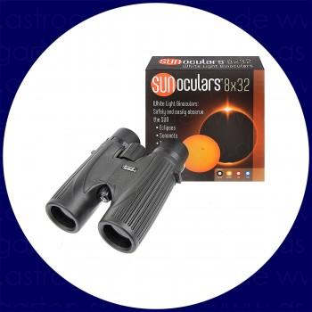 LUNT SUNoculars 8x32 Spezial-Sonnenfernglas, schwarz