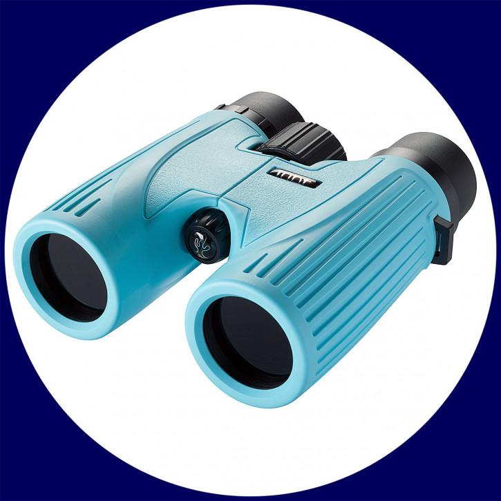 LUNT SUNoculars 8x32 Spezial-Sonnenfernglas, blau