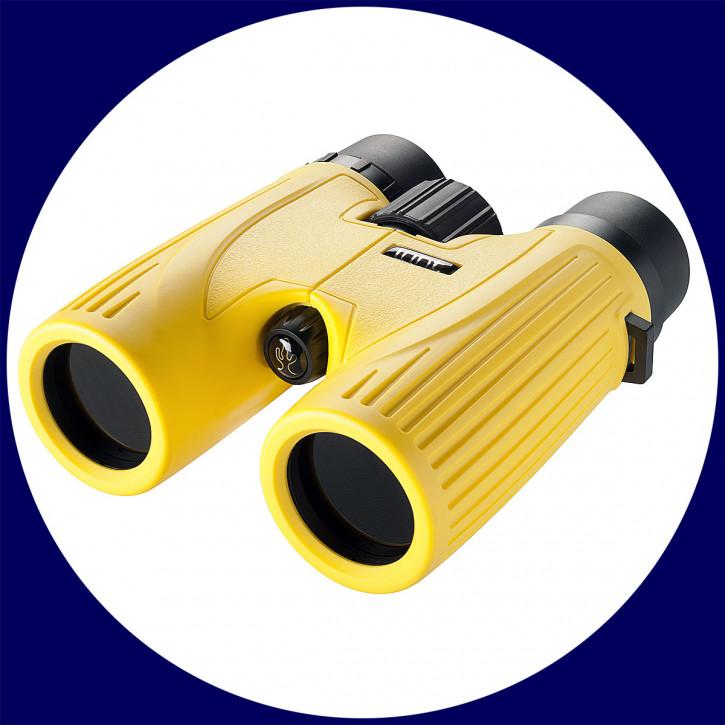 LUNT SUNoculars 8x32 Spezial-Sonnenfernglas, gelb