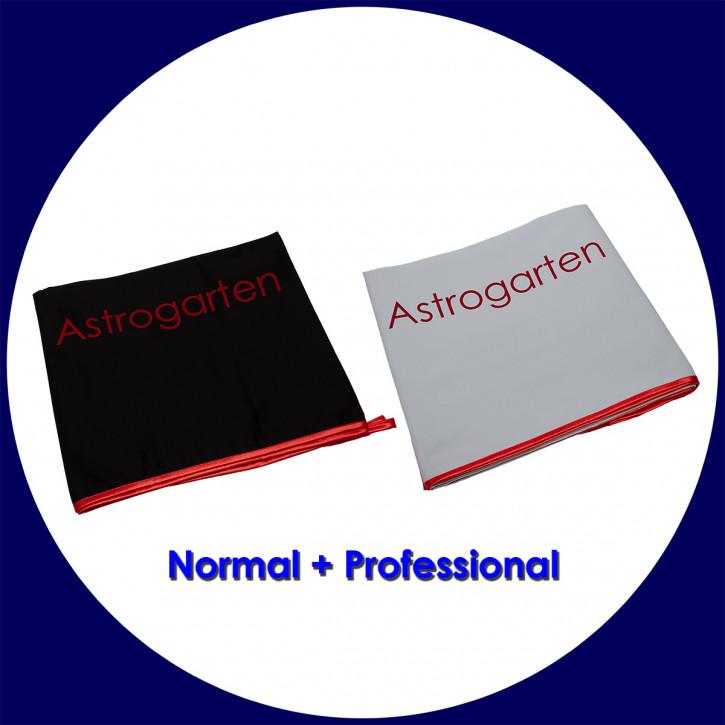 Astrogarten Beobachtungstücher Set - Normal (schwarz) und Professional (s/w)
