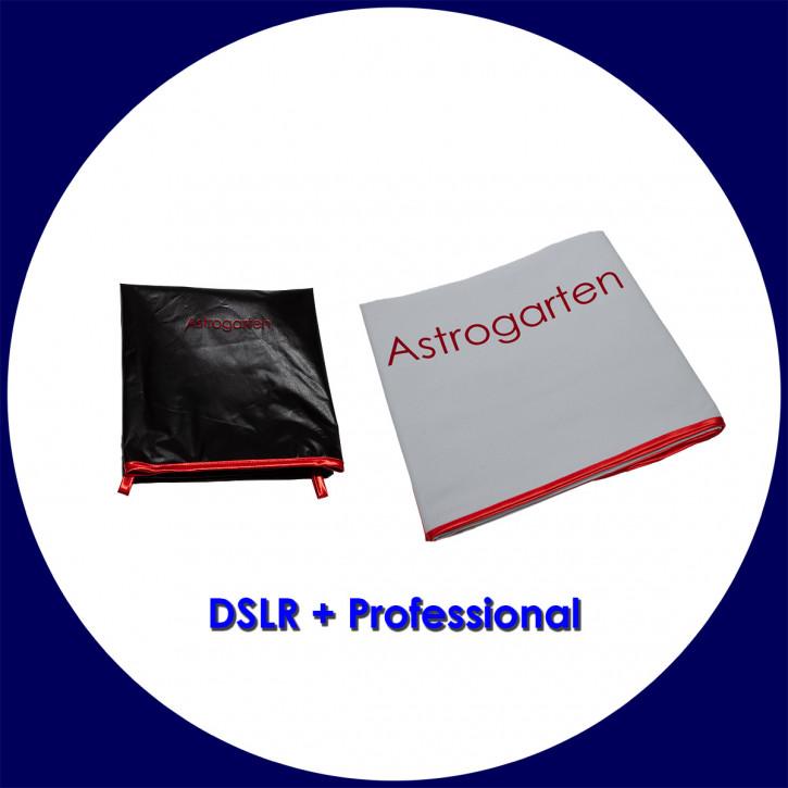 Astrogarten Beobachtungstücher Set - DSLR-Tuch Professional und Professional (schwarz/weiß)