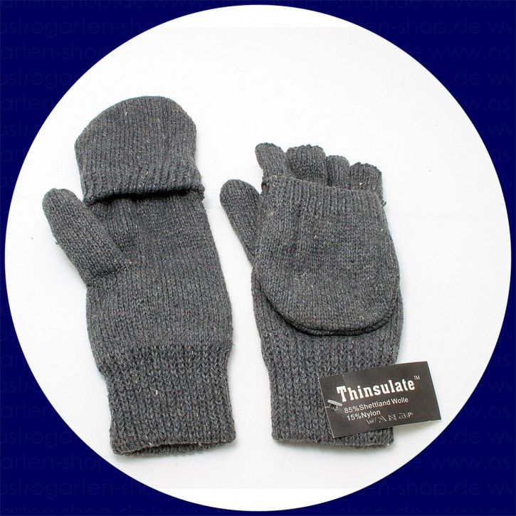 "Astrogarten mitten, insulating ""Shetland"" Gloves, L-XL"