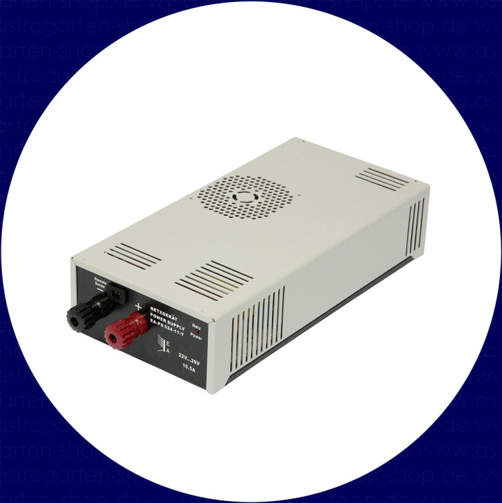 Stabilized Power Supply for GM 2000/3000 HPS/QCI 25V, 10A, 260W