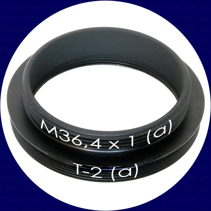 [T-2 #3] Adapter 36,4mm(m)/T-2(m)