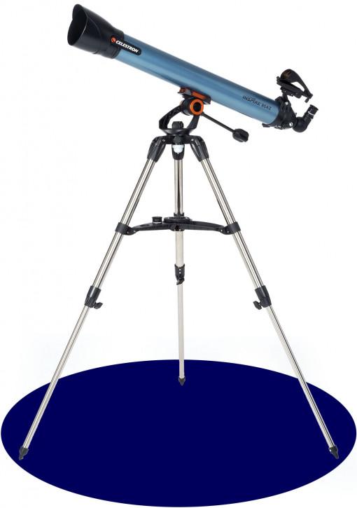 Celestron Inspire 80AZ Refractor Telescope