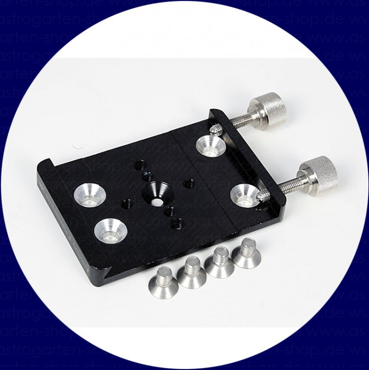 """Baader 3"""" Riderclamp, 60mm long, fitting for Stronghold Tangent Assembly"""