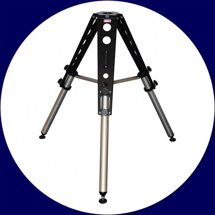 Baader T-Pod Aluminium Stativ 75-110cm (schwarz)