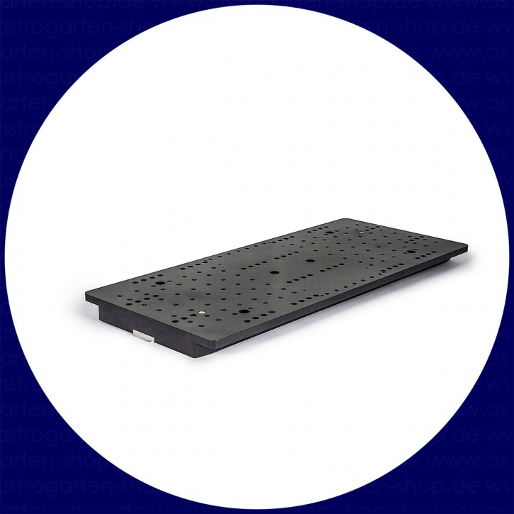 """Baader heavy-duty 8"""" double mounting plate, for up to 100 kg"""