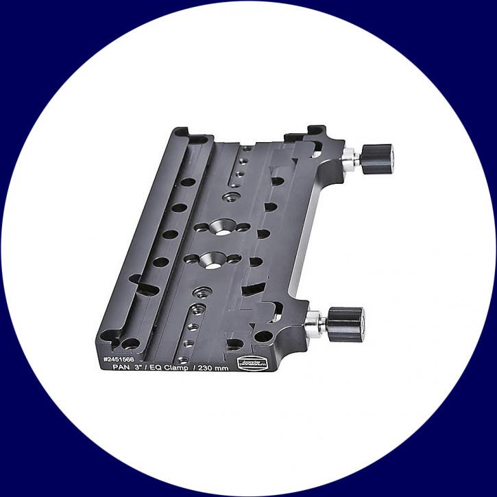 """Baader PAN 3""""/EQ Duale Klemme, Länge 230mm, mit 2 Klemmbacken"""