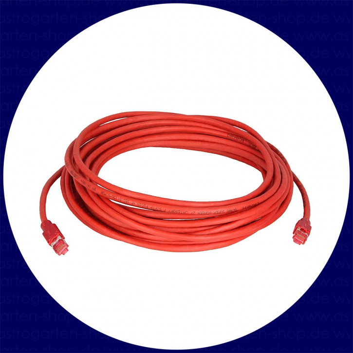 Network Cable with ColdTemp-specified CAT-7 wire (5-/15-/30 m)