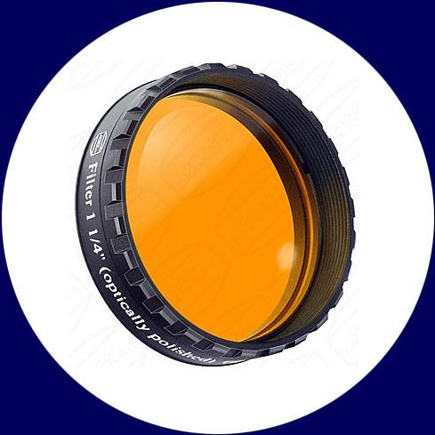 """Baader 1¼"""" Okularfilter Orange 570nm Langpass"""