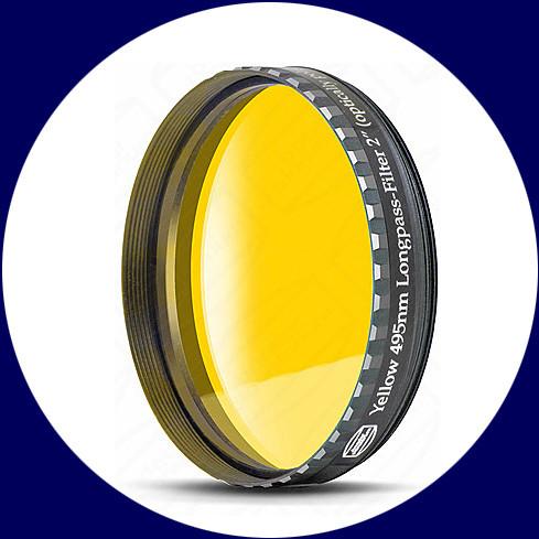 "Baader 2"" Okularfilter Gelb 495nm Langpass"