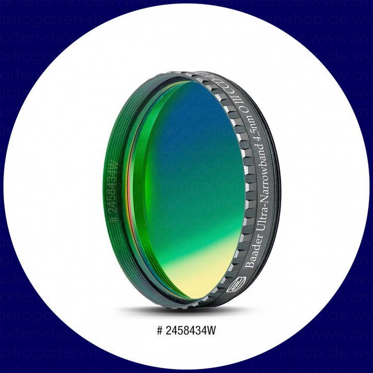 Baader Ultra-Narrowband 4.5nm O III CCD-Filter 2""