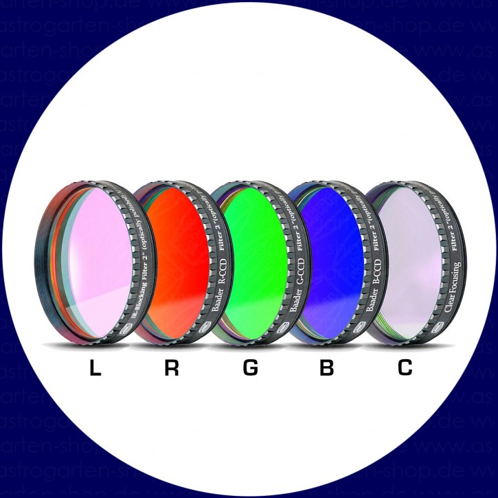 Baader L-RGB-C CCD-Filters