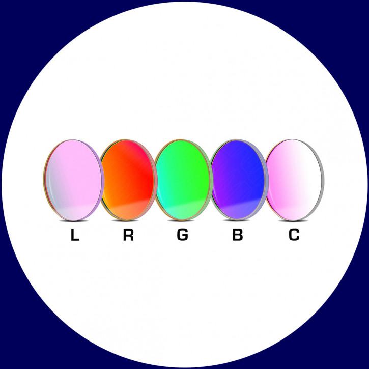 Baader LRGBC CCD-Filtersatz 36mm