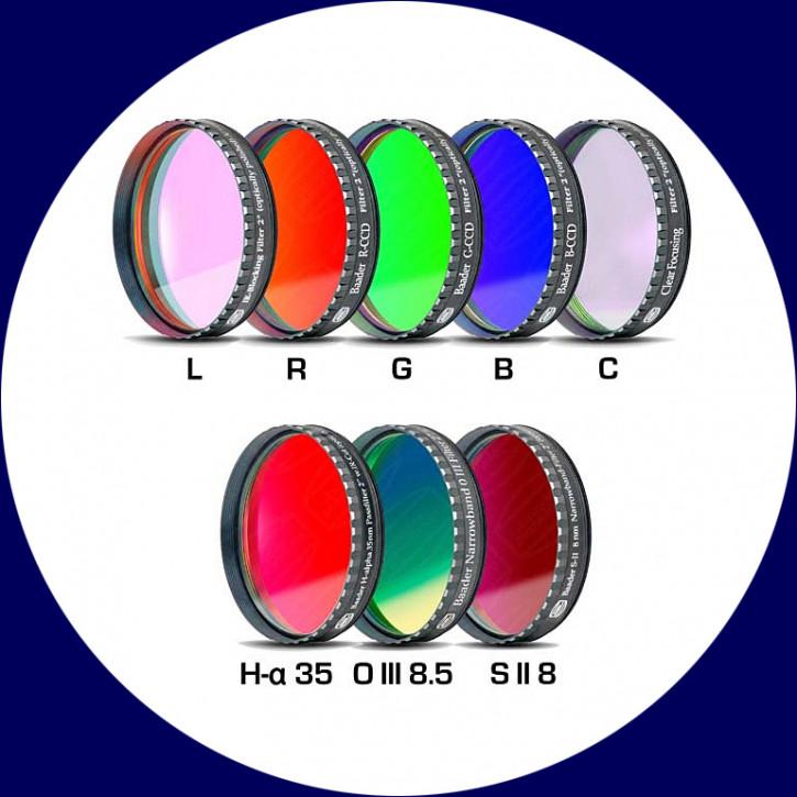 Baader CCD Nebelfilter- & LRGBC-Nebelfiltersätze