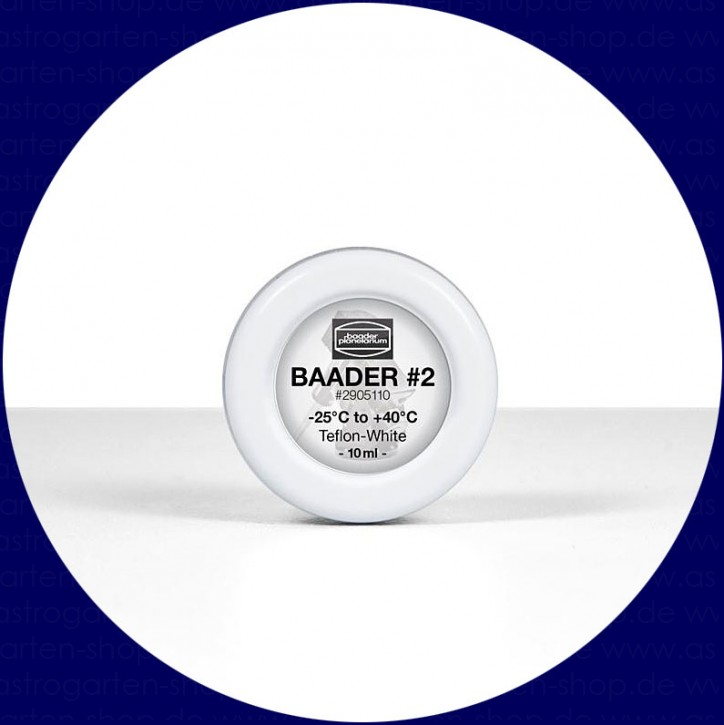 Baader Grease Teflon-white #2 (-25°C to +40°C)