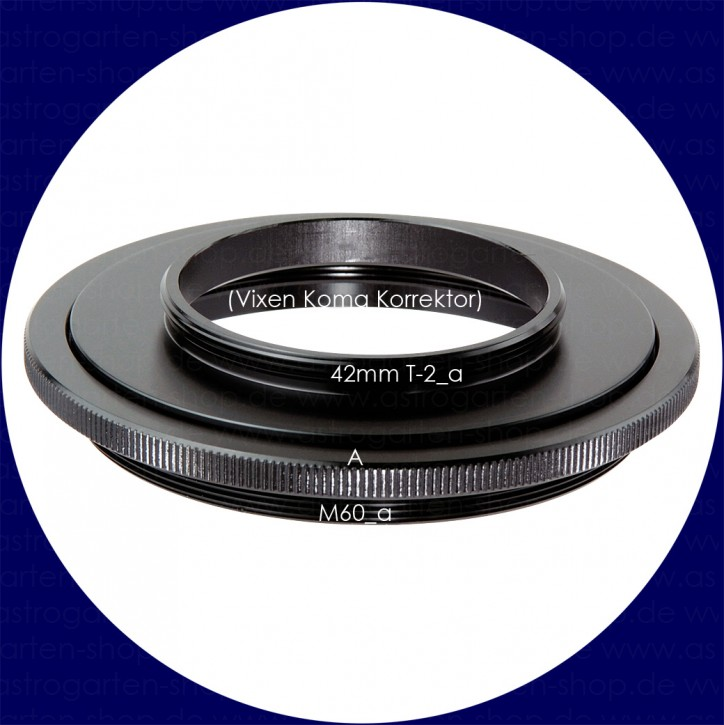 Vixen 60mm Ring with T-thread Adapter