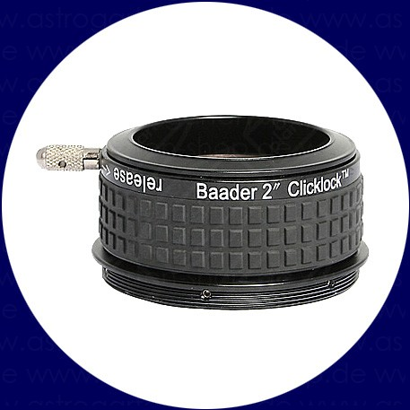 "Baader 2 inch ClickLock Clamp 2.7"" (Astro-Physics und TEC)"