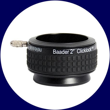 Baader 2 Zoll ClickLock Klemme S57 (Ringschwalbe f. Celestron/Sky-Watcher)