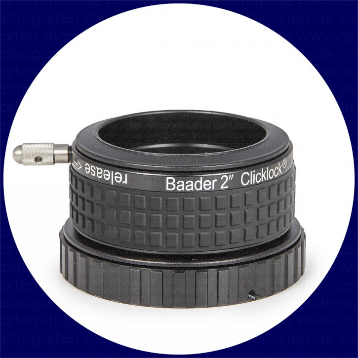 Baader 2 inch ClickLock Clamp M68i x 0.75 (for Hexafoc: Bresser, Explore Scientific/Omegon)
