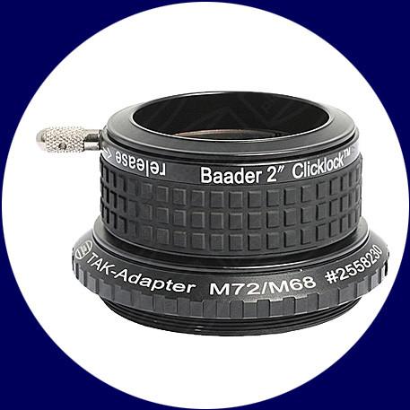 Baader 2 inch ClickLock Clamp M72 (Takahashi)