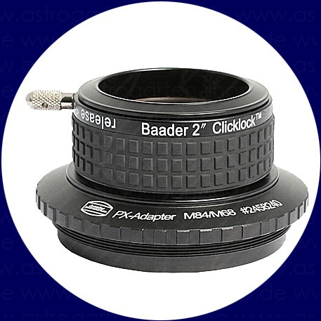 Baader 2 inch ClickLock Clamp M84 (Pentax)