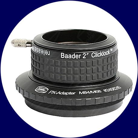Baader 2 Zoll ClickLock Klemme M84 (Pentax)