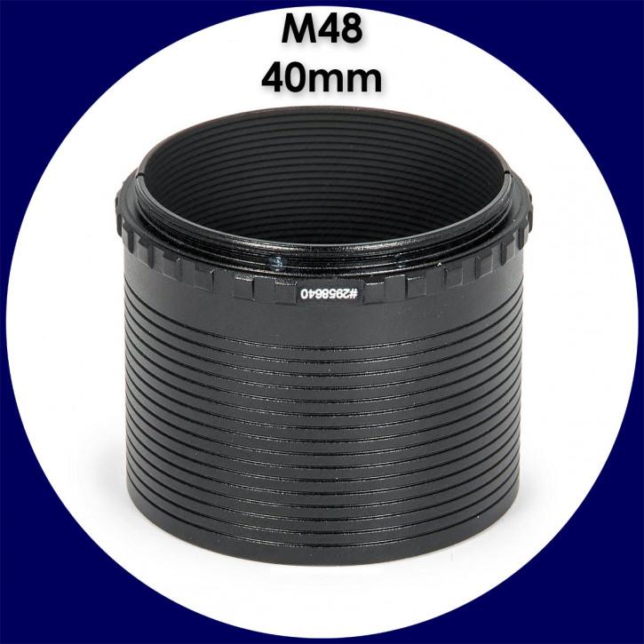 """[M48] Baader M48 Zwischenring 40mm / 2"""" Steckhülse mit Safety Kerfs"""