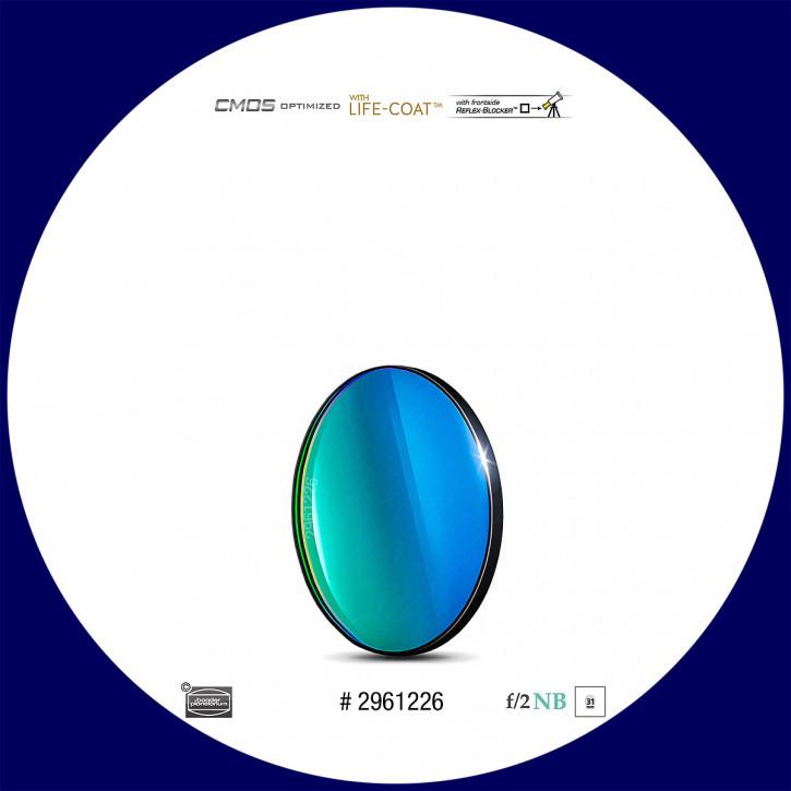 Baader O-III 6.5nm Schmalband (Narrowband) f/2 Highspeed Filter 31mm - CMOS optimiert
