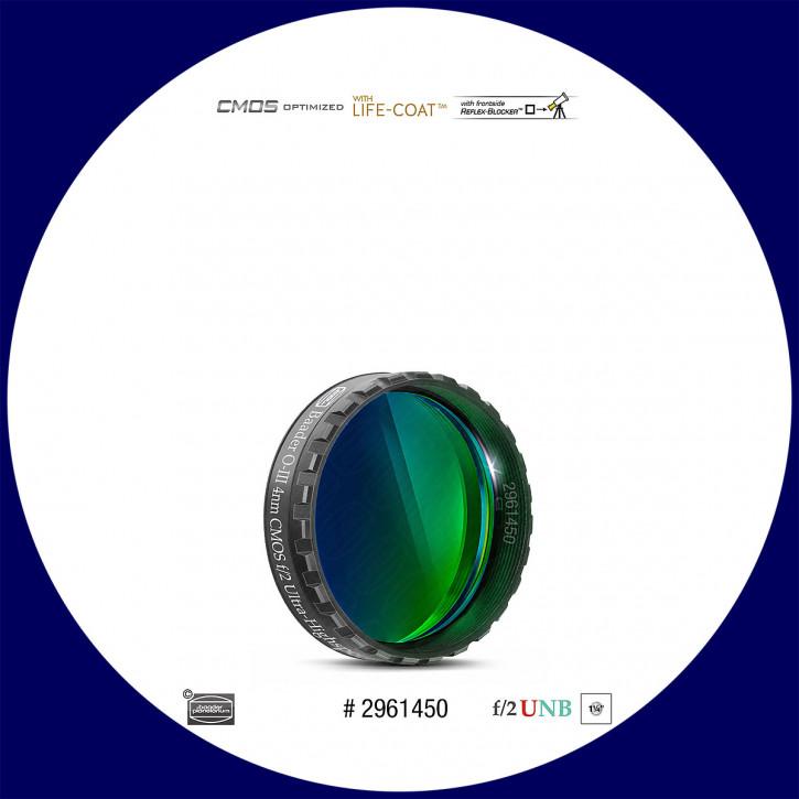 "Baader O-III 4nm Ultra-Schmalband (Narrowband) f/2 Highspeed Filter 1¼"" - CMOS optimiert"
