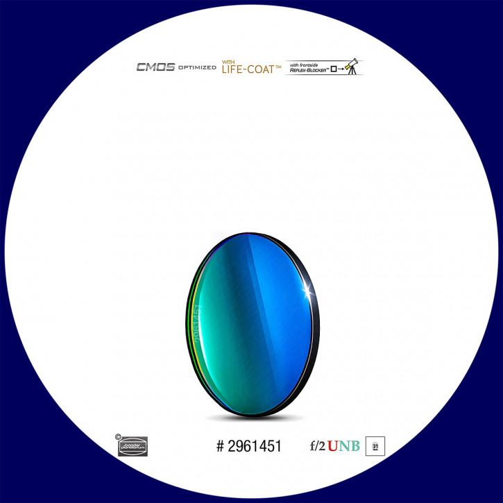 Baader O-III 4nm Ultra-Schmalband (Narrowband) f/2 Highspeed Filter 31mm - CMOS optimiert