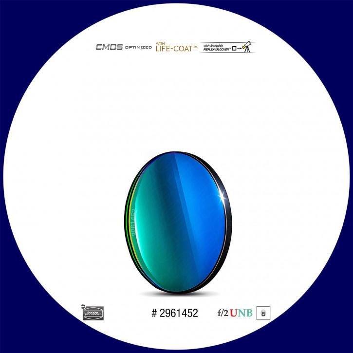 Baader O-III 4nm Ultra-Schmalband (Narrowband) f/2 Highspeed Filter 36mm - CMOS optimiert