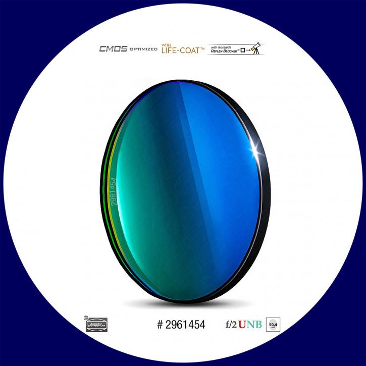 Baader O-III 4nm Ultra-Schmalband (Narrowband) f/2 Highspeed Filter 50,4mm - CMOS optimiert