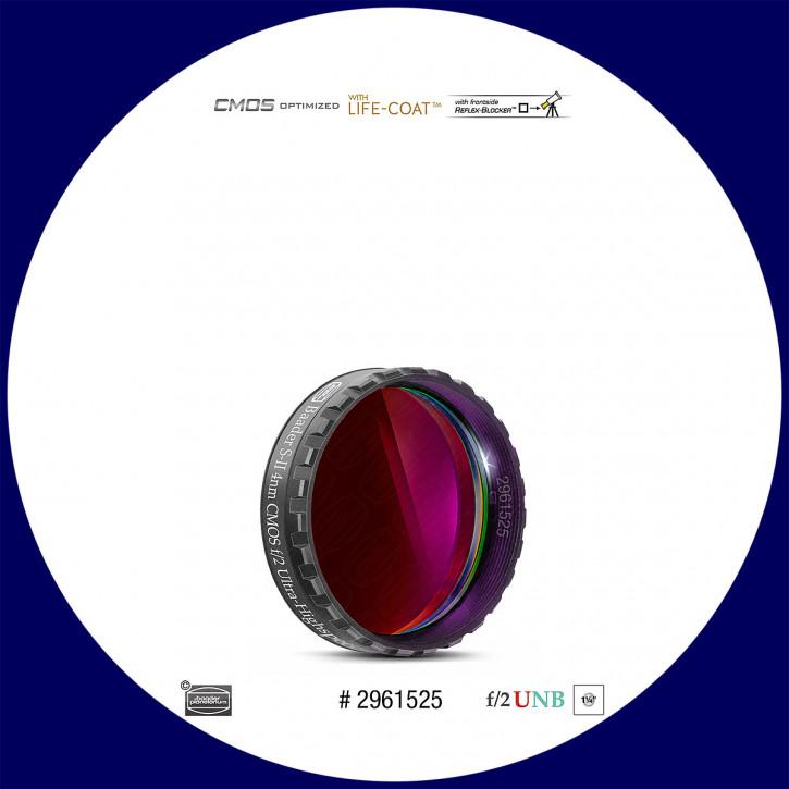 "Baader S-II 4nm Ultra-Schmalband (Narrowband) f/2 Highspeed Filter 1¼"" - CMOS optimiert"