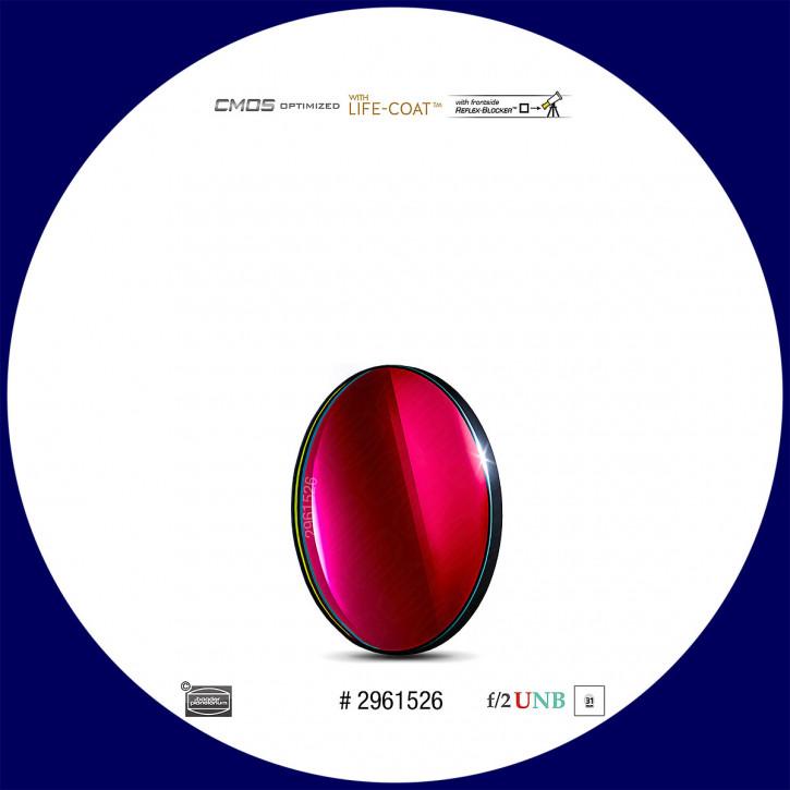 Baader S-II 4nm Ultra-Schmalband (Narrowband) f/2 Highspeed Filter 31mm - CMOS optimiert
