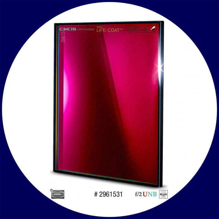 Baader S-II 4nm Ultra-Schmalband (Narrowband) f/2 Highspeed Filter 65x65mm - CMOS optimiert