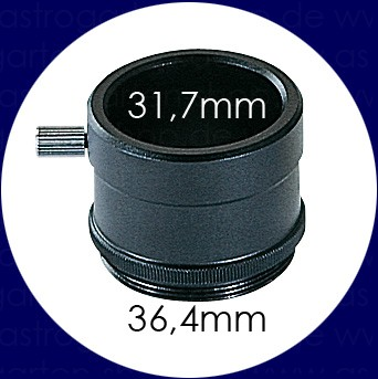 Vixen Eyepiece Adapter 36.4mm to 31.7mm