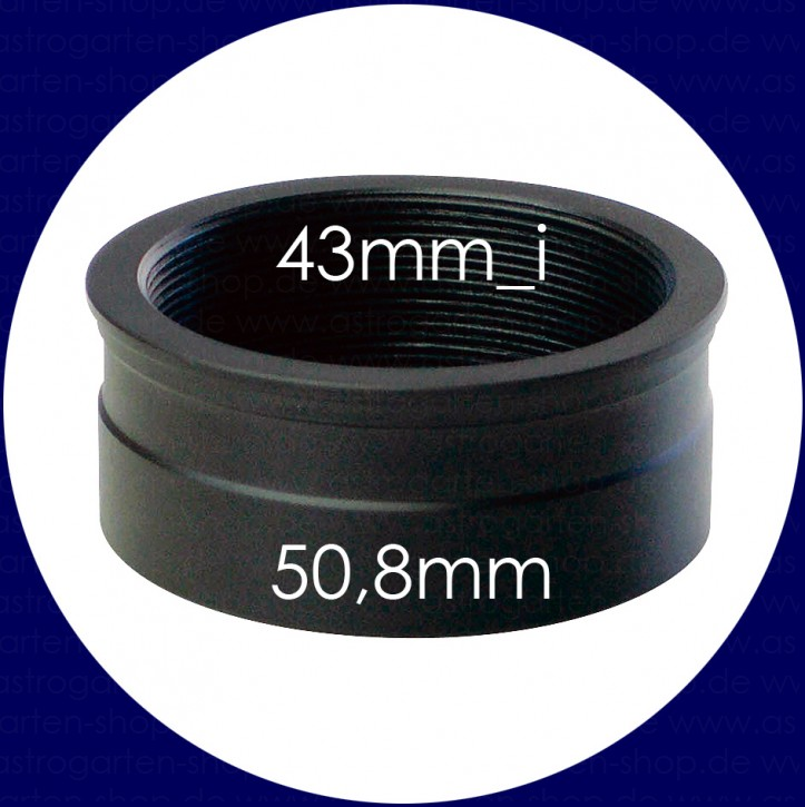 Vixen Eyepiece Adapter 50.8mm to 43mm