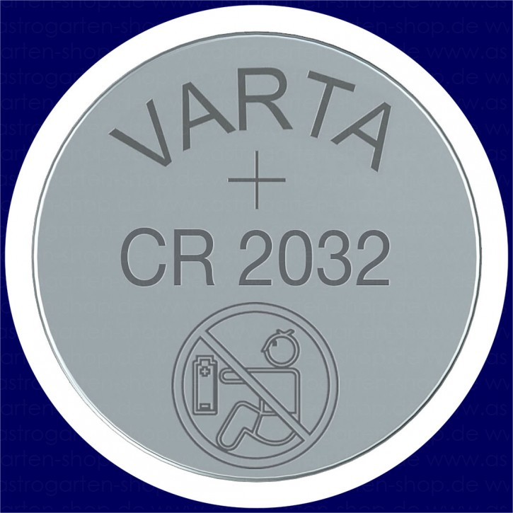 Batterie VARTA Lithium Knopfzelle CR 2032 3V