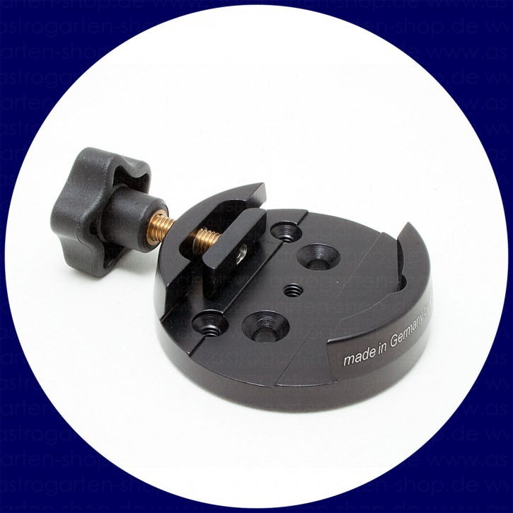 Berlebach Dovetail Clamp DX with Pressure Shoe (black)