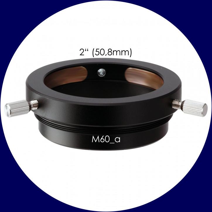 Vixen Okular Adapter 2-Zoll, M60, Kompressionsring