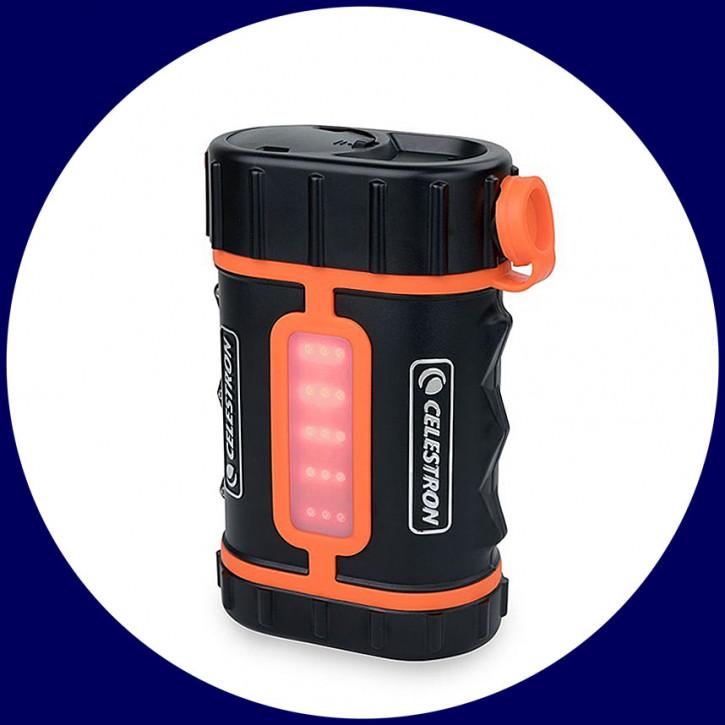 Celestron PowerTank Pro LiFePo4 12V DC, USB 5V, 158.74Wh mit Licht