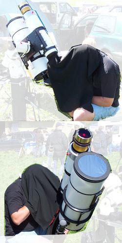 Astrogarten Beobachtungstuch - Normal (schwarz)