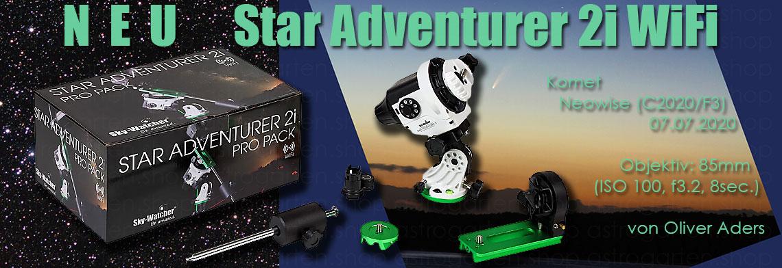 NEU: Sky-Watcher Star Adventurer 2i WiFi