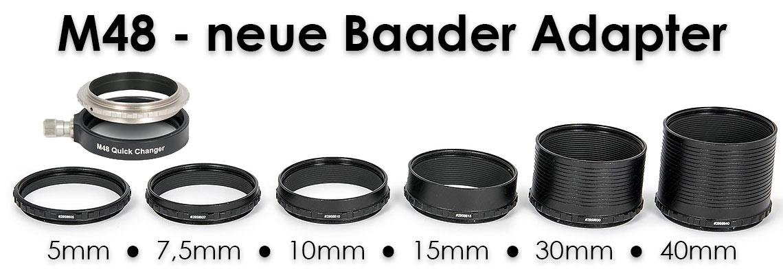 Neue Baader M48 System Adapter